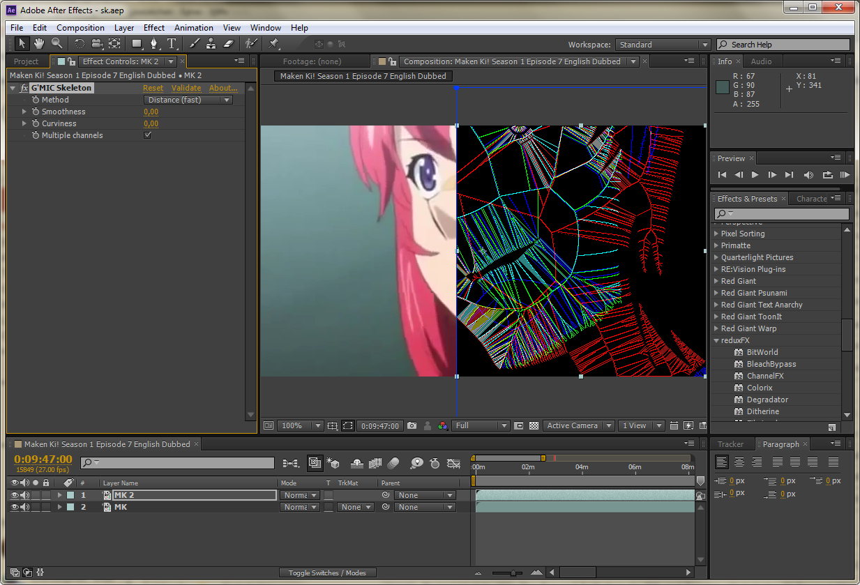 Adobe After Effects G'MIC